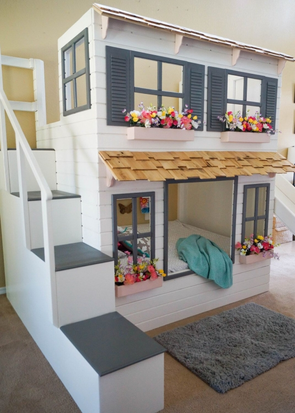72 Most Popular Full Size Loft Bed with Stairs and What You Must Know 6348