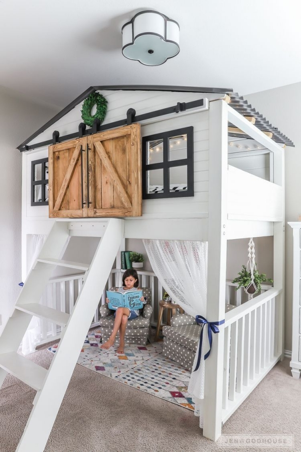 85 Best Of Queen Loft Beds Design Ideas- A Perfect Way to Maximize Space In A Room 6267