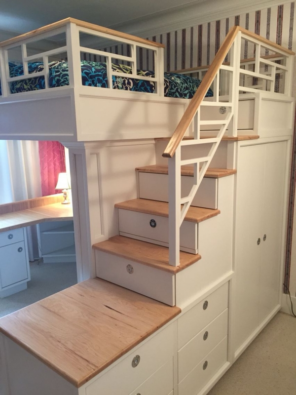 85 Best Of Queen Loft Beds Design Ideas- A Perfect Way to Maximize Space In A Room 6343
