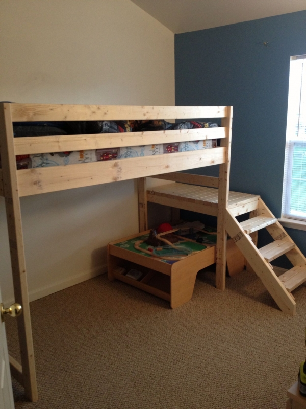 85 Best Of Queen Loft Beds Design Ideas- A Perfect Way to Maximize Space In A Room 6269