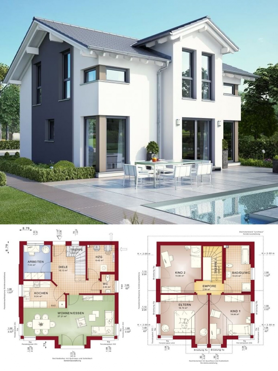 10 top Choices Beautiful Modern 2 Story House -9532