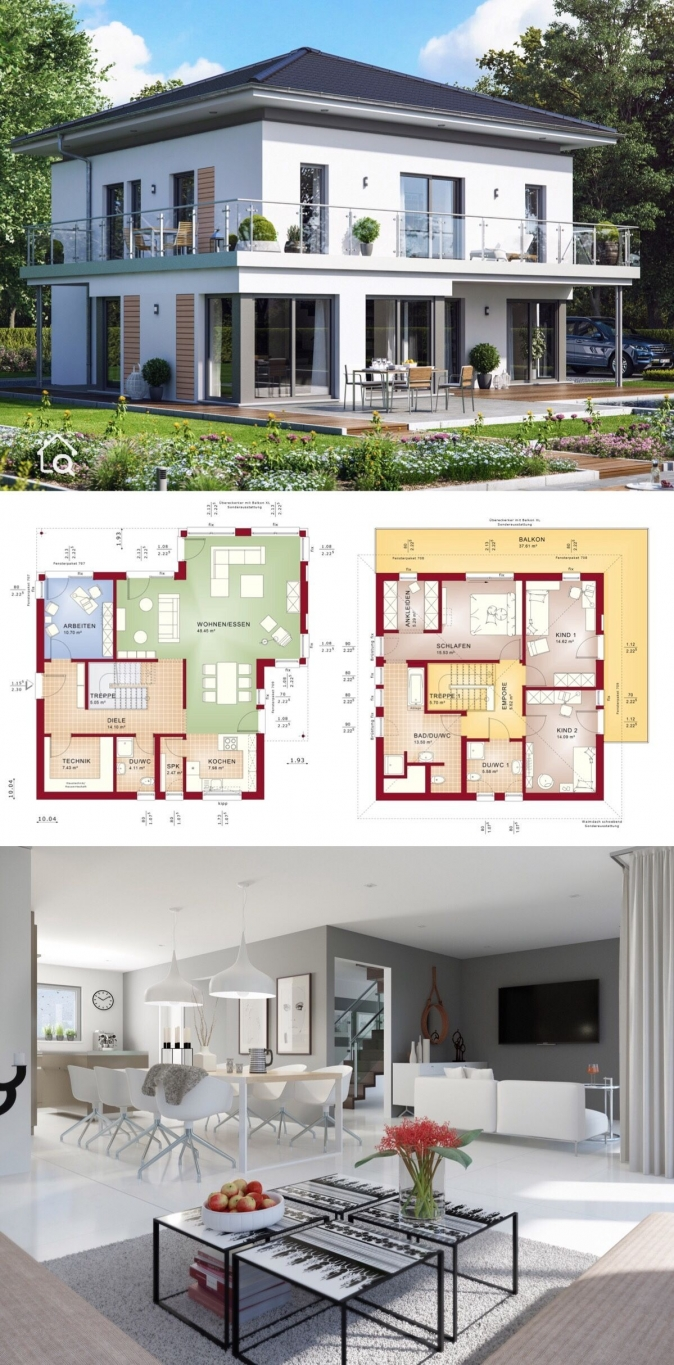 10 top Choices Beautiful Modern 2 Story House -9533