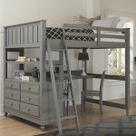 30+ Bunk Beds Design Ideas With Desk Areas Help To Make Compact Bedrooms Bigger 20