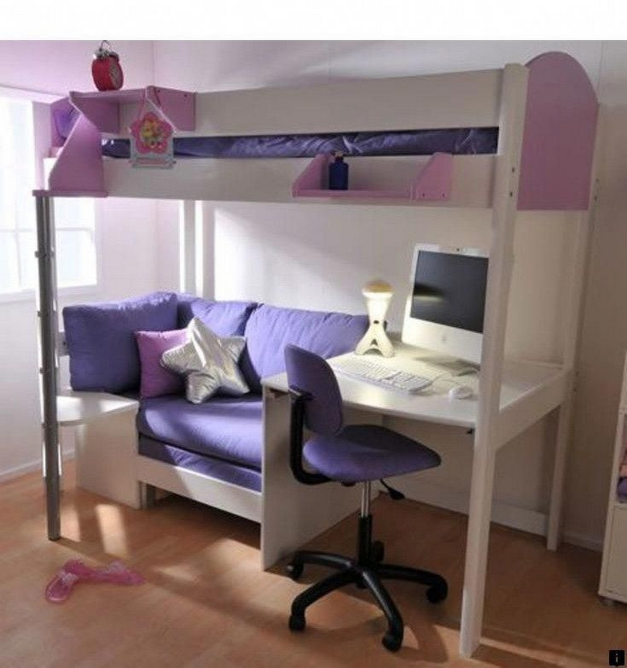 30+ Bunk Beds Design Ideas With Desk Areas Help To Make Compact Bedrooms Bigger 28