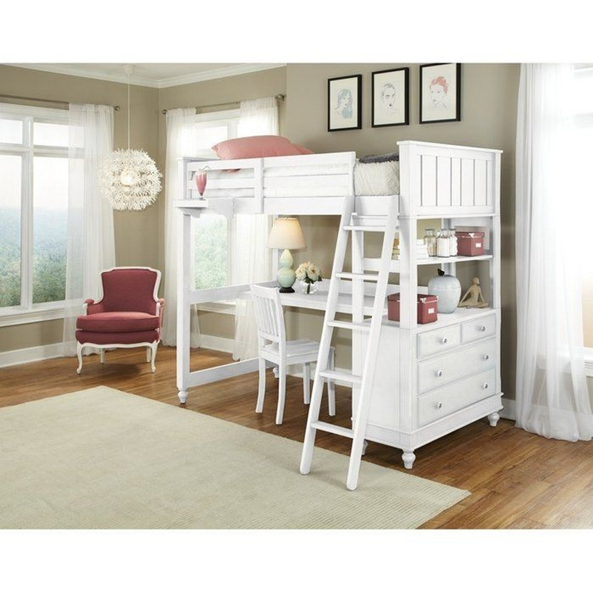 30+ Bunk Beds Design Ideas With Desk Areas Help To Make Compact Bedrooms Bigger 31