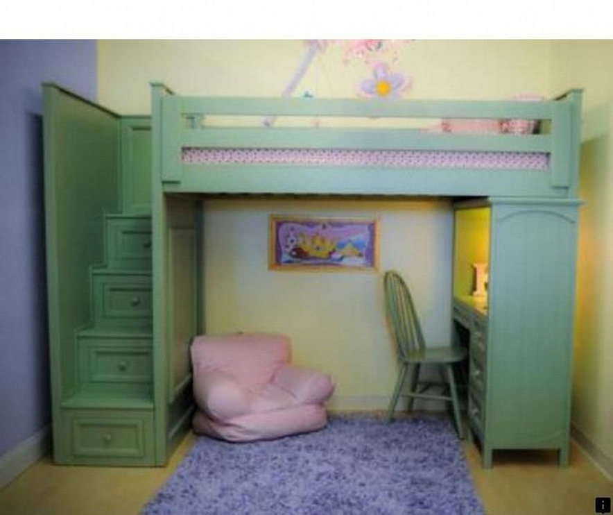 30+ Bunk Beds Design Ideas With Desk Areas Help To Make Compact Bedrooms Bigger 6