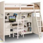 30+ Bunk Beds Design Ideas With Desk Areas Help To Make Compact Bedrooms Bigger 9