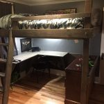 34 Bunk Bed Design Ideas With The Most Enthusiastic Desk In Interest 10