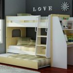 34 Bunk Bed Design Ideas With The Most Enthusiastic Desk In Interest 17