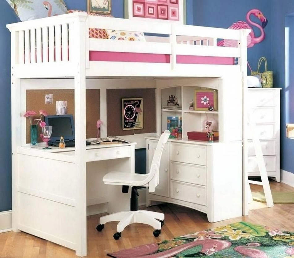 34 Bunk Bed Design Ideas With The Most Enthusiastic Desk In Interest 18