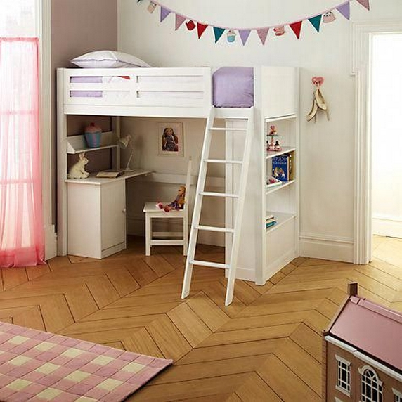 34 Bunk Bed Design Ideas With The Most Enthusiastic Desk In Interest 23