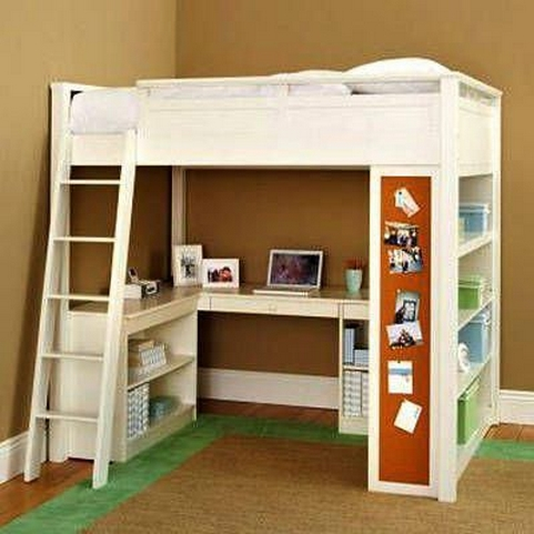 34 Bunk Bed Design Ideas With The Most Enthusiastic Desk In Interest 24