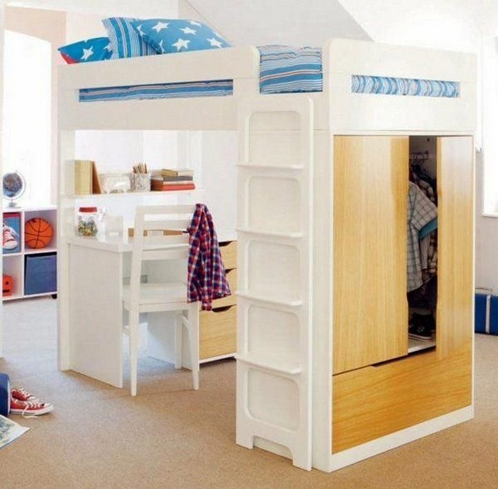 34 Bunk Bed Design Ideas With The Most Enthusiastic Desk In Interest 25