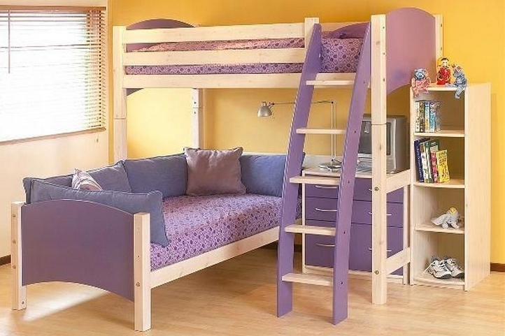 34 Bunk Bed Design Ideas With The Most Enthusiastic Desk In Interest 28
