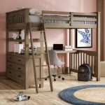 34 Bunk Bed Design Ideas With The Most Enthusiastic Desk In Interest 33