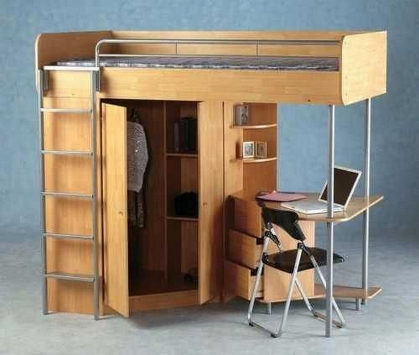 34 Bunk Bed Design Ideas With The Most Enthusiastic Desk In Interest 6