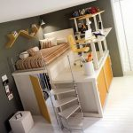 34 Bunk Bed Design Ideas With The Most Enthusiastic Desk In Interest 8
