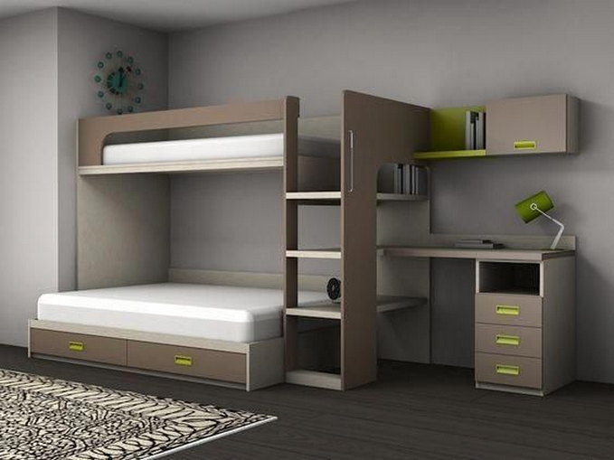 39 Amazing Bunk Beds With Desk Design Ideas Tips Choosing Bunk Beds With Desks 37