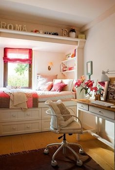 79 Creative Ways Dream Rooms for Teens Bedrooms Small Spaces-8893
