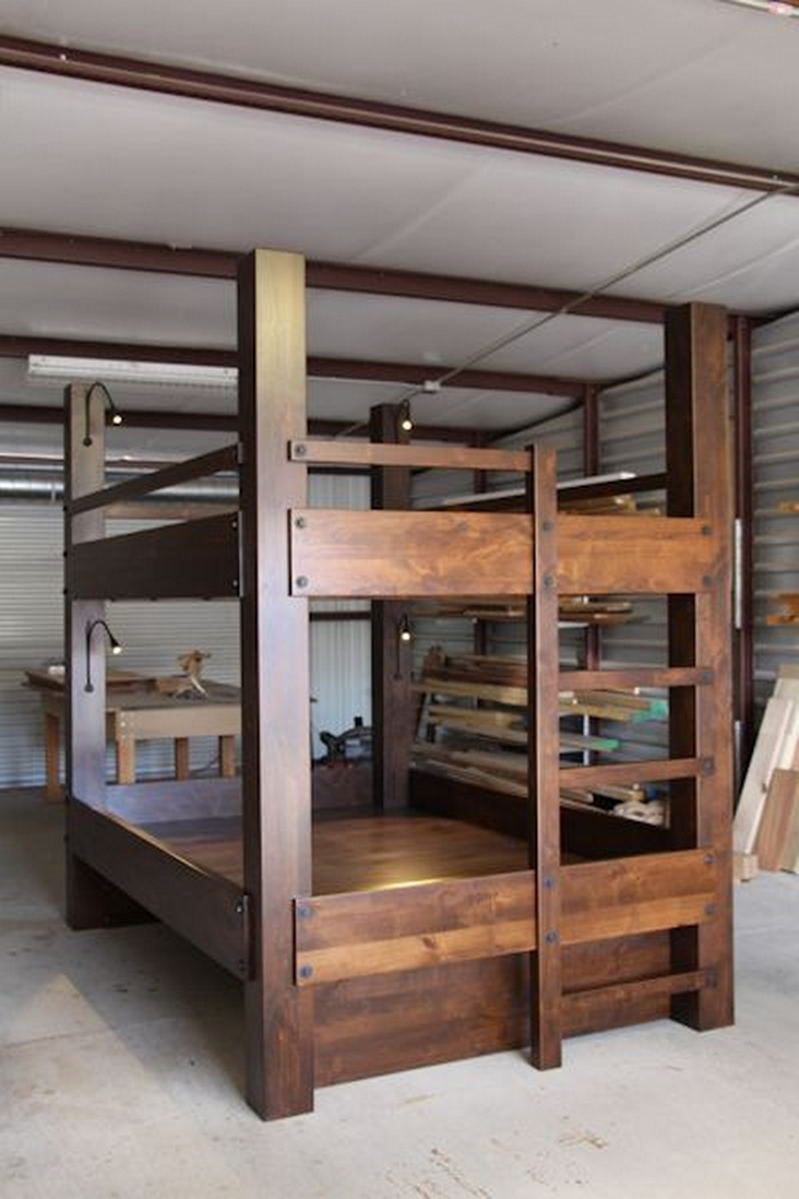 82 Amazing Models Bunk Beds With Guard Rail On Bottom Ensuring Your Bunk Bed Is Safe For Your Children 19