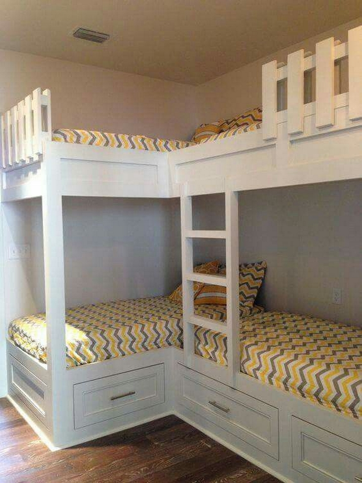 82 Amazing Models Bunk Beds With Guard Rail On Bottom Ensuring Your Bunk Bed Is Safe For Your Children 22
