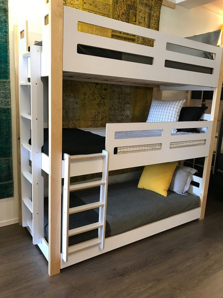 82 Amazing Models Bunk Beds With Guard Rail On Bottom Ensuring Your Bunk Bed Is Safe For Your Children 38