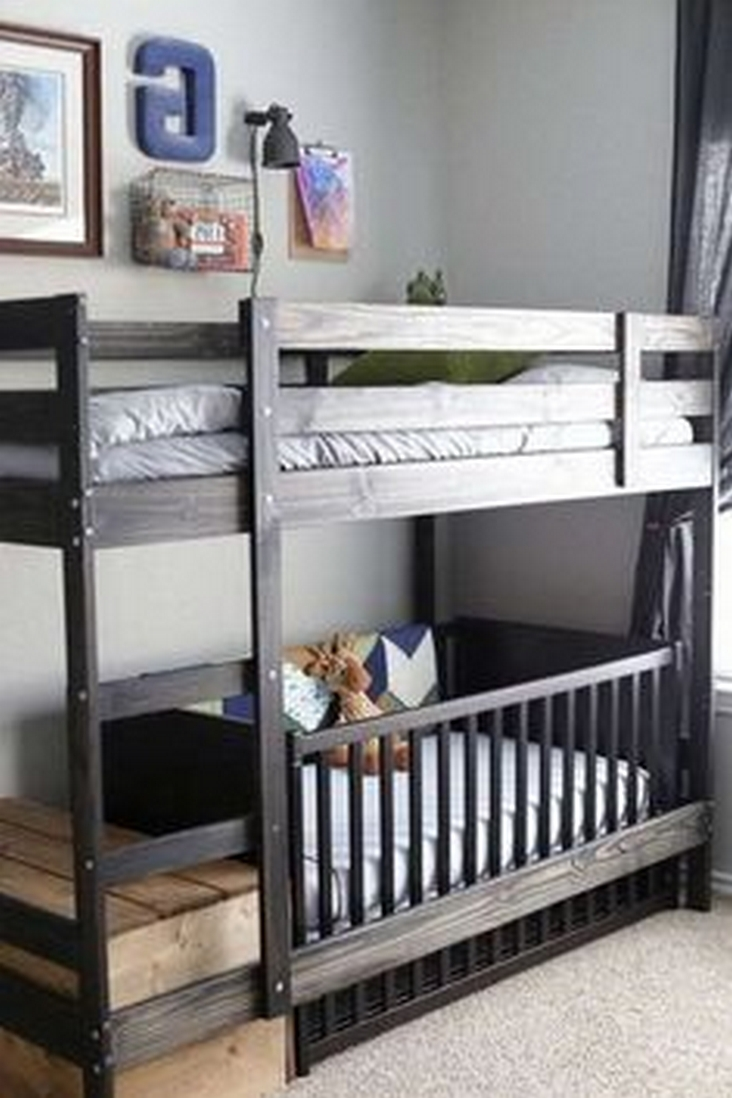 82 Amazing Models Bunk Beds With Guard Rail On Bottom Ensuring Your Bunk Bed Is Safe For Your Children 44
