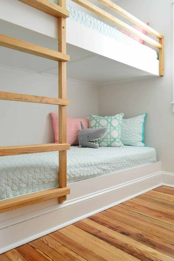 82 Amazing Models Bunk Beds With Guard Rail On Bottom Ensuring Your Bunk Bed Is Safe For Your Children 45