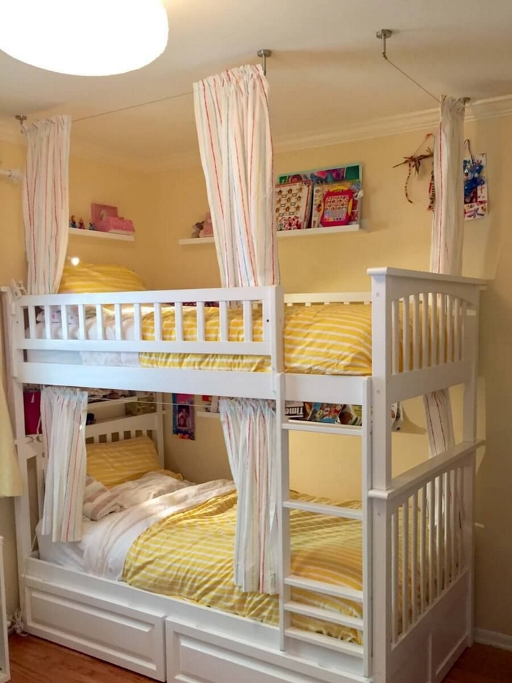 82 Amazing Models Bunk Beds With Guard Rail On Bottom Ensuring Your Bunk Bed Is Safe For Your Children 46