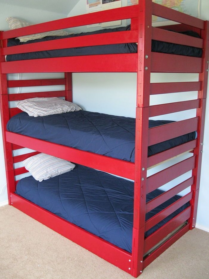 82 Amazing Models Bunk Beds With Guard Rail On Bottom Ensuring Your Bunk Bed Is Safe For Your Children 66