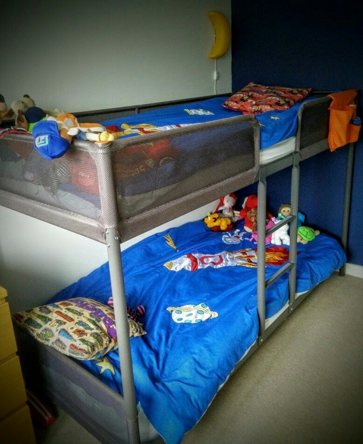82 Amazing Models Bunk Beds With Guard Rail On Bottom Ensuring Your Bunk Bed Is Safe For Your Children 73