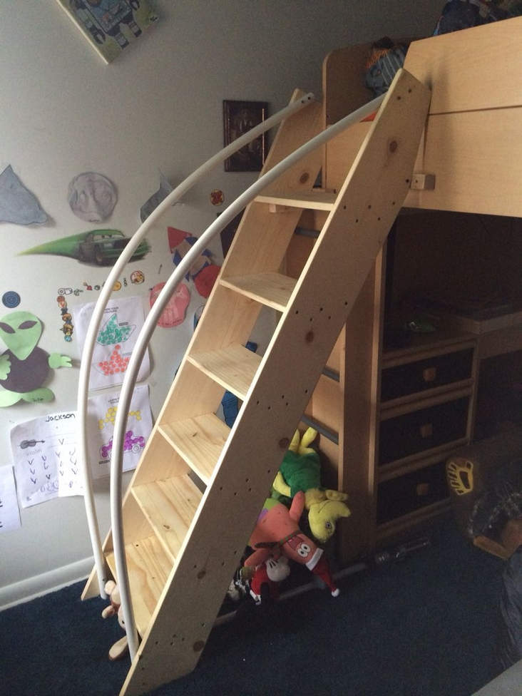 82 Amazing Models Bunk Beds With Guard Rail On Bottom Ensuring Your Bunk Bed Is Safe For Your Children 77
