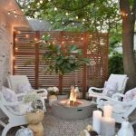 85 Awesome Winter Patio Decorating Ideas with Fire Pit - Making Your Patio Warm and Cozy-8493