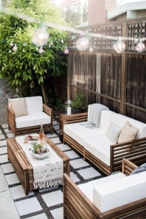 85 Awesome Winter Patio Decorating Ideas with Fire Pit - Making Your Patio Warm and Cozy-8509