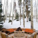 85 Awesome Winter Patio Decorating Ideas with Fire Pit - Making Your Patio Warm and Cozy-8523