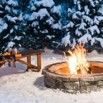85 Awesome Winter Patio Decorating Ideas with Fire Pit - Making Your Patio Warm and Cozy-8526