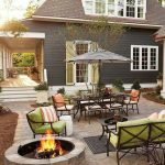 85 Awesome Winter Patio Decorating Ideas with Fire Pit - Making Your Patio Warm and Cozy-8531