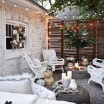 85 Awesome Winter Patio Decorating Ideas with Fire Pit - Making Your Patio Warm and Cozy-8533