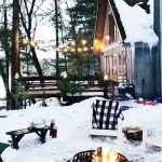 85 Awesome Winter Patio Decorating Ideas with Fire Pit - Making Your Patio Warm and Cozy-8537