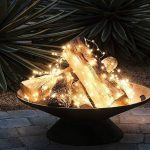 85 Awesome Winter Patio Decorating Ideas with Fire Pit - Making Your Patio Warm and Cozy-8538