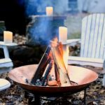 85 Awesome Winter Patio Decorating Ideas with Fire Pit - Making Your Patio Warm and Cozy-8539