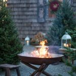 85 Awesome Winter Patio Decorating Ideas with Fire Pit - Making Your Patio Warm and Cozy-8558
