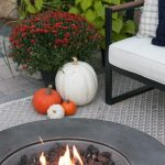 85 Awesome Winter Patio Decorating Ideas with Fire Pit - Making Your Patio Warm and Cozy-8563
