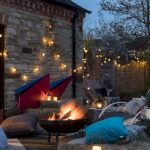 85 Awesome Winter Patio Decorating Ideas with Fire Pit - Making Your Patio Warm and Cozy-8565