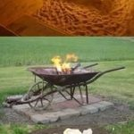 85 Awesome Winter Patio Decorating Ideas with Fire Pit - Making Your Patio Warm and Cozy-8566