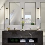 90 Great Bathroom Mirror Ideas-8687