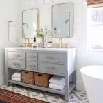 90 Great Bathroom Mirror Ideas-8693