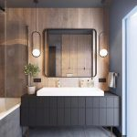 90 Great Bathroom Mirror Ideas-8681