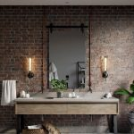 90 Great Bathroom Mirror Ideas-8684