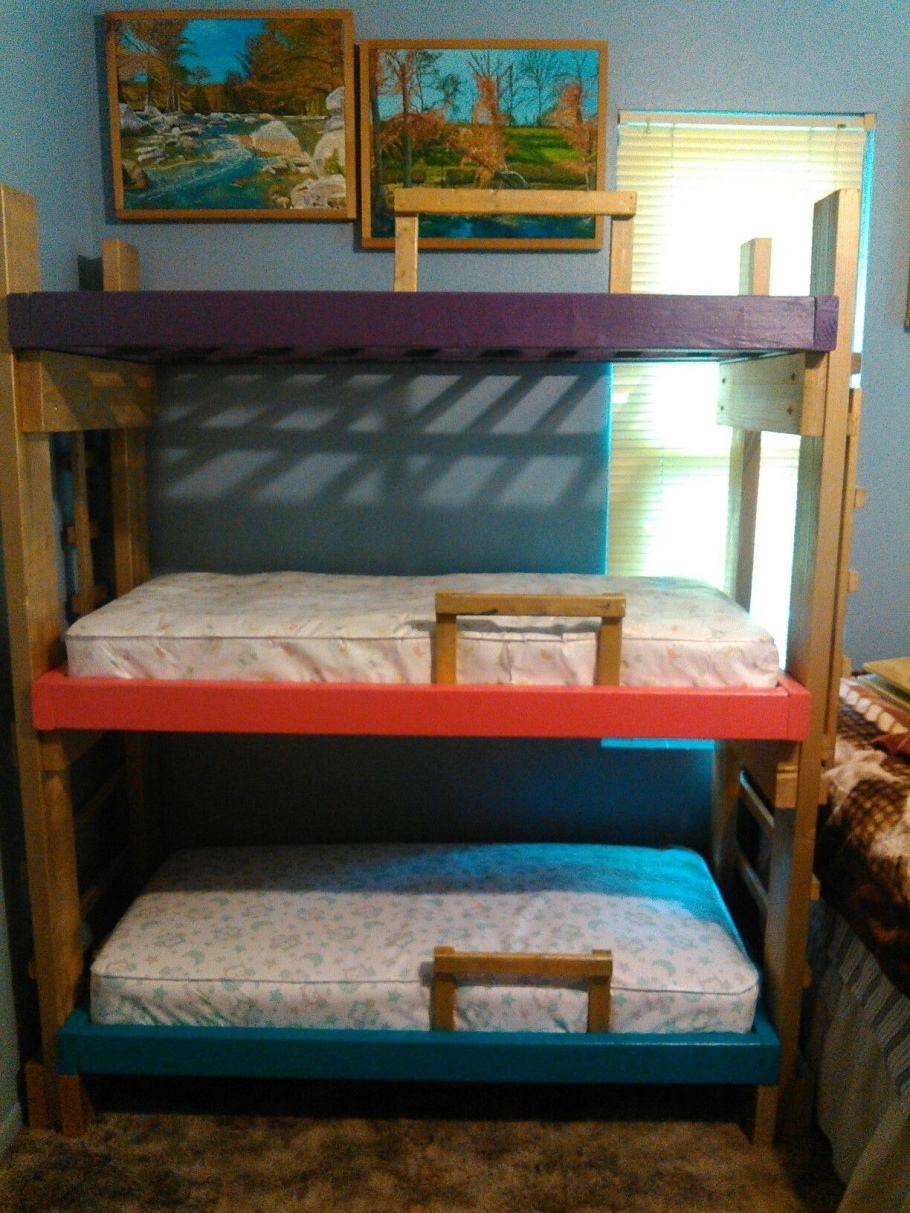 90 top Picks for A Triple Bunk Bed for Kids Rooms-9572